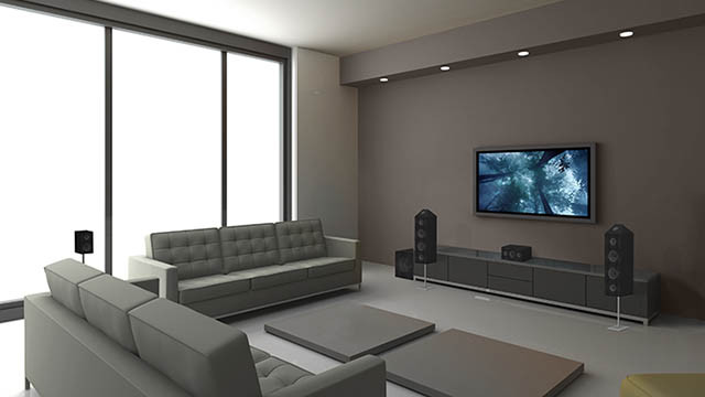 Harris security residential audio home theater - Home theater sound system design ...